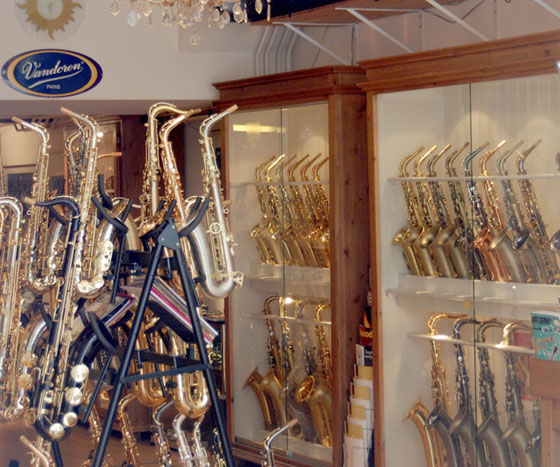Saxophone Shop